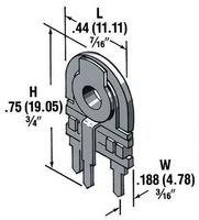 Фото 1/2 28-450, 10 кОм, 0,5 Вт, Резистор подстроечный