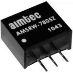 AMSRW-783.3Z, DC/DC преобразователь, 1,65Вт, вход 9…72В DC ...
