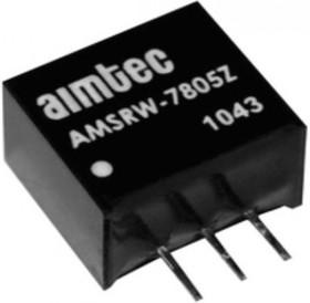 AMSRW-7812Z, DC/DC преобразователь, 6Вт, вход 17…72В DC, выход 12В/500мА