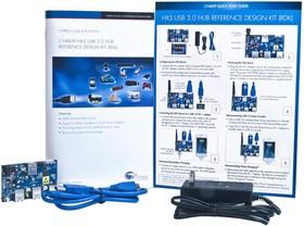 CY4609, Макетная плата, CYUSB330x семейство контроллеров концентраторов HX3 USB 3.0, ПО утилита Blaster Plus