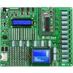 MIKROE-701, UNI DS6 Development System, Полнофункциональная универсальная отладочная плата для изучения МК 7 различных архитектур