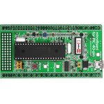 MIKROE-1029, mikroBoard for PIC 40-pin with PIC18F4520 ...
