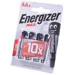 Фото 2/3 Energizer MAX LR6 BL4, Элемент питания