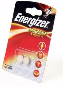 Фото 1/2 Energizer Alkaline LR44/A76 BL2, Элемент питания