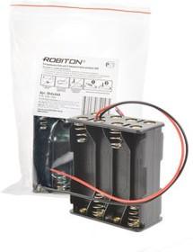 Фото 1/2 ROBITON Bh8xAAA с двумя проводами PK1, Отсек для элементов питания