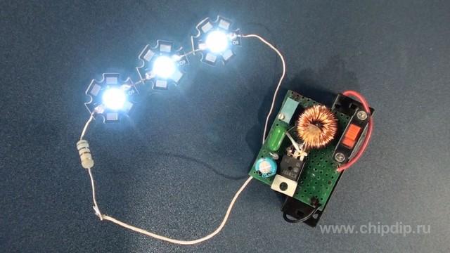 Как сделать мощный светодиодный 161