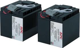 RBC55, Аккумулятор свинцовый 2*(12В-17Ач) 183x142x173