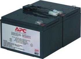 RBC6, Аккумулятор свинцовый 2*(12В-12Ач) 196x152x94