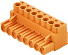 1943660000, Съемная клеммная колодка, 5.08 мм, 10 вывод(-ов), 26AWG до 12AWG, 4 мм², Винт, 19 А