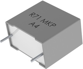 R71MI41504030K, Cap Film 1.5uF 420V PP 10% (18 X 11 X 19mm) Radial Plastic Rectangular Can 15mm 0.053 Ohm 105°C Bulk