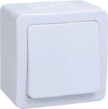 Фото 1/2 ВС20-1-0-ГПБ выкл 1кл о/у IP54 (цвет клавиш: белый) ГЕРМЕС PLUS