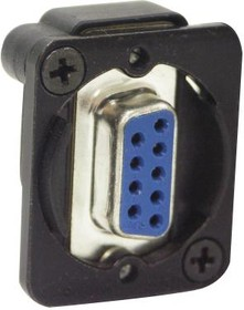Фото 1/2 EHDB9FF, ADAPTER, D-SUB, 9POS, RCPT-RCPT