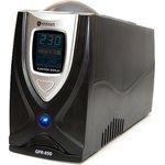 GYPER GPR-850, Источник бесперебойного питания (ИБП/UPS), 850ВА/510Вт, IEC+Schuko, line-interactive, черный