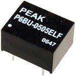 P6BU-0505ELF, DC/DC преобразователь, 1Вт, вход 4.5-5.5В ...