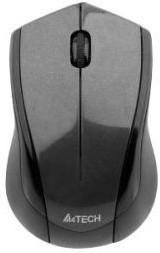 Мышь A4 V-Track G3-280A оптическая беспроводная USB, серый и черный