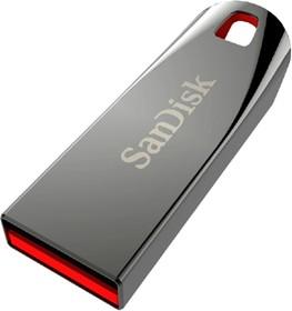 Флешка USB SANDISK Cruzer Force 16Гб, USB2.0, серебристый и красный [sdcz71-016g-b35]