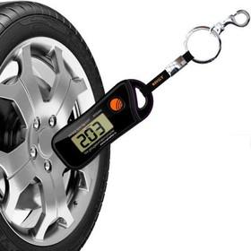 00455, Шинный электронный манометр с термометром - брелок