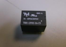 TRB1-12VDC-SA-CD-R, Реле 1пер. 12V (3A 120VAC/24VDC)