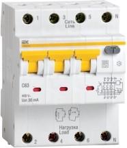 АВДТ 34 C63 100мА - Автоматический Выключатель Дифф. тока