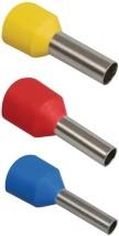 Фото 1/2 Наконечник-гильза Е1508 1,5мм2 с изолированным фланцем (красный) (100 шт) ИЭК