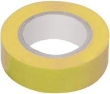 Фото 1/3 Изолента 0,18х19 мм желтая 20 метров ИЭК