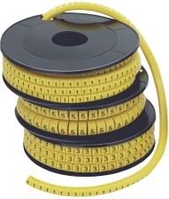 Кольцо маркировочное 1-2.5мм (7) МК 1000шт/ролл