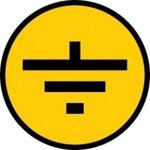 "Фото 3/3 Символ ""Заземление"" 30х30 IEK YPC20-ZAZEM-1-096"