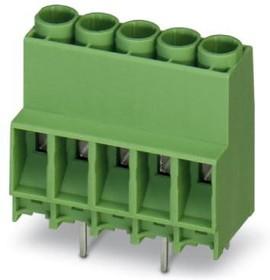 1777600, Conn PC Terminal Block 8 POS 6.35mm Solder ST Thru-Hole 41A