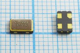 Кварцевый генератор 1.0МГц 3.3В, HCMOS/TTL в корпусе SMD 5x3.2мм, гк 1000 \\SMD05032C4\T/ CM\3,3В\SOC5\STE