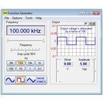 Фото 4/7 PCGU1000, Генератор сигналов 0.01 Гц - 2 МГц, 2 канала