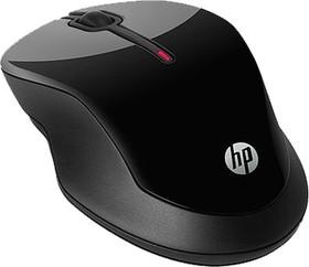 Мышь HP X3500 оптическая беспроводная USB, черный [h4k65aa]