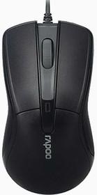 Мышь RAPOO N1162 оптическая проводная USB, черный [13701]