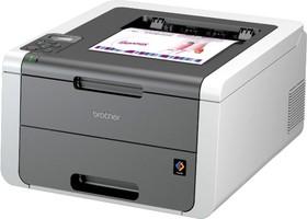 Принтер BROTHER HL-3140CW светодиодный, цвет: белый [hl3140cwr1]