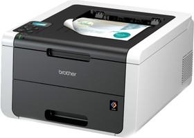 Принтер BROTHER HL-3170CDW, светодиодный, цвет: белый [hl3170cdwr1]