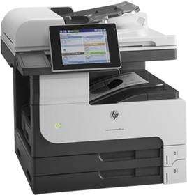 МФУ HP LaserJet Enterprise 700 M725dn, A3, лазерный, серый [cf066a]
