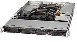 "Платформа SuperMicro SYS-6017R-NTF 3.5"" SAS/SATA C602 1G 2P 1x600W"