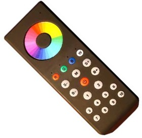 SR-RGBW-434 Black 013189, Пульт сенсорный для SC-RGBW-RF8B-5CH