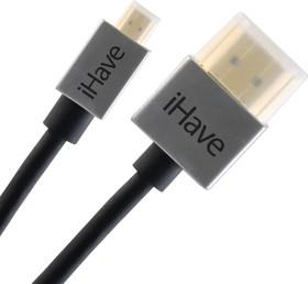 Фото 1/2 BF1012, Кабель HDMI A вилка - C (mini HDMI) вилка, супертонкий, High Speed W/E, 1.4 м