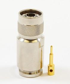HYR-0333 (GN-333), Разъем N, штекер, 12D, зажим (Clamp)