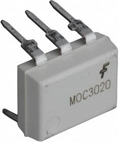 Фото 1/2 MOC3020M, Оптопара с симисторным выходом 400В, переключение в любой момент времени [DIP-6]