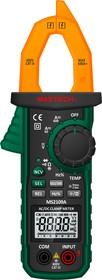 Фото 1/9 MS2109A, Клещи токоизмерительные цифровые автоматические ACA&DCA(ACV/DCV, сопр.,прозвон, темп,скважность)