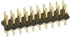 77313-101-16LF, Conn Unshrouded Header HDR 16 POS 2.54mm Solder ST Thru-Hole Bulk