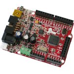 Фото 1/3 OLIMEXINO-STM32,  Отладочная плата в форм-факторе Arduino на базе мк STM32F103RBT6