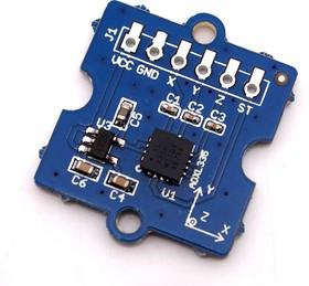 Grove - 3-axis Analog Accelerometer, Плата 3х-осного акселерометра на базе ADXL335
