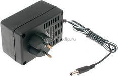 БПС 20-0.5 (штекер 5.5х2.5, Б), Блок питания стабилизированный, 20B,0.5А,10Вт (адаптер)