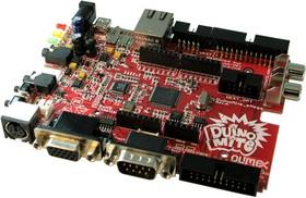 Фото 1/3 DUINOMITE-eMEGA, Отладочная плата форм-фактора Arduino на базе МК PIC32MX795L