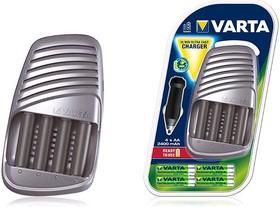 57075, Зарядное устройство VARTA Ultra Fast + 4*AA 2400 mAh R2U, 12V адаптер