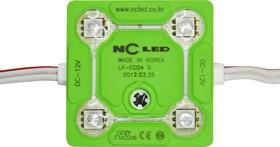 SMD-модуль 4 диода NC ECO4 NEW зелёный