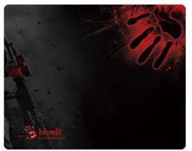 Коврик для мыши A4 Bloody B-080 черный/рисунок