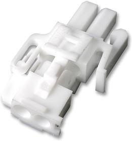 794184-1, Корпус разъема, Серия Mini Universal MATE-N-LOK 2, Штекер, 2 вывод(-ов), 4.14 мм